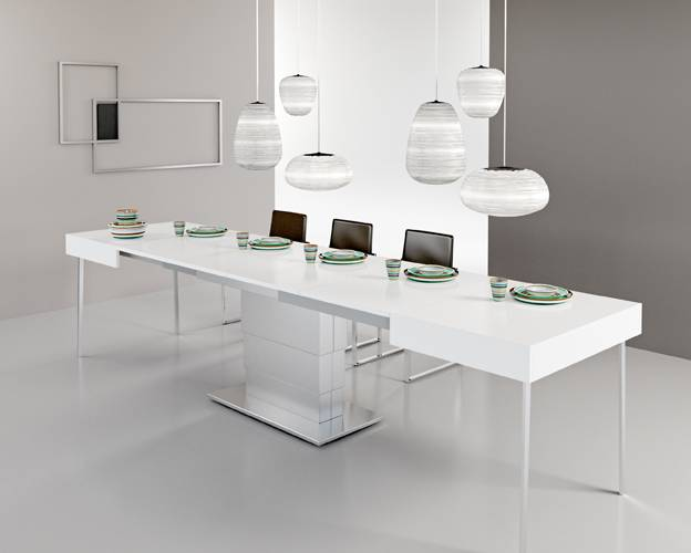 transformable modern dining table