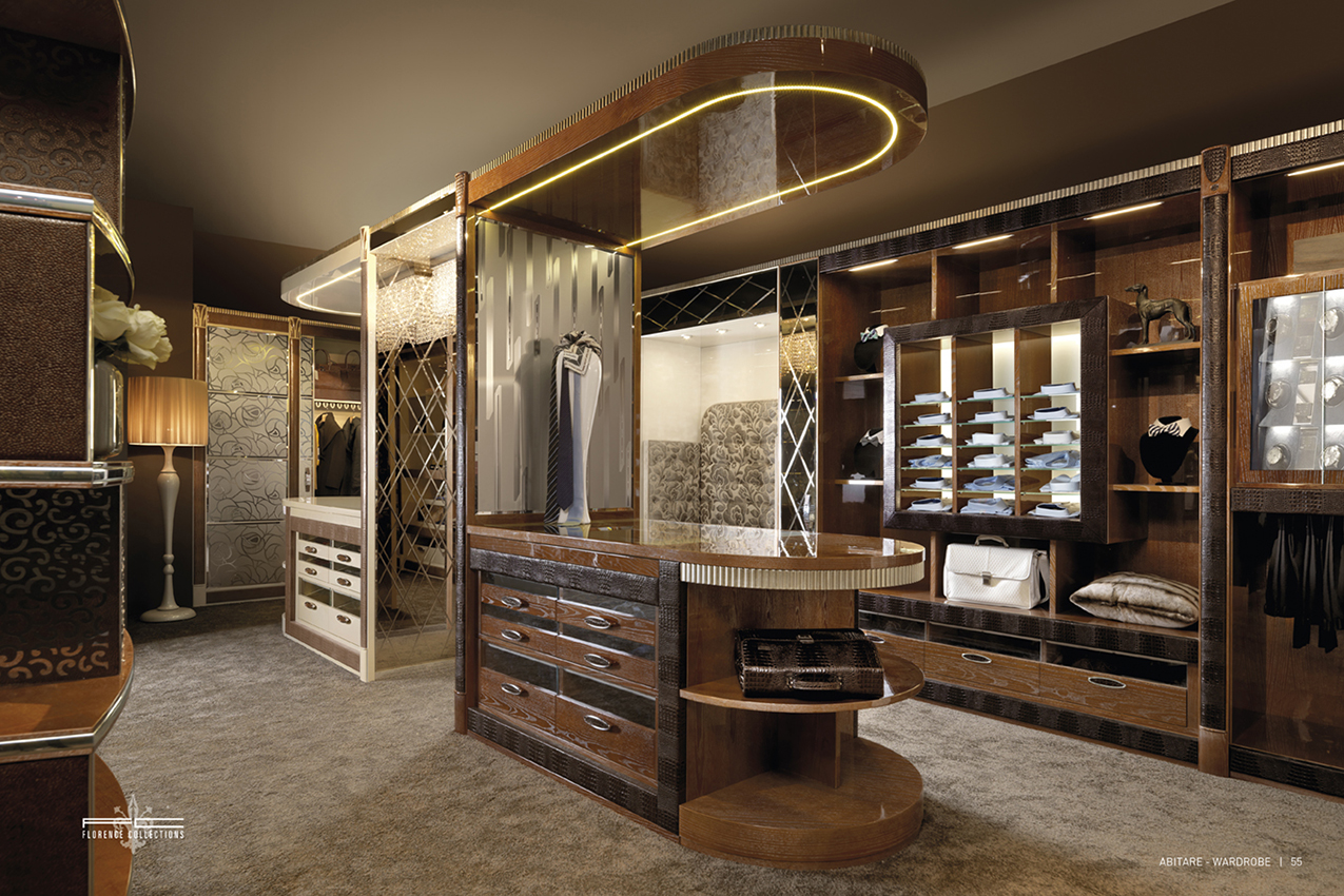Luxury Walk In Closet Art Design Group