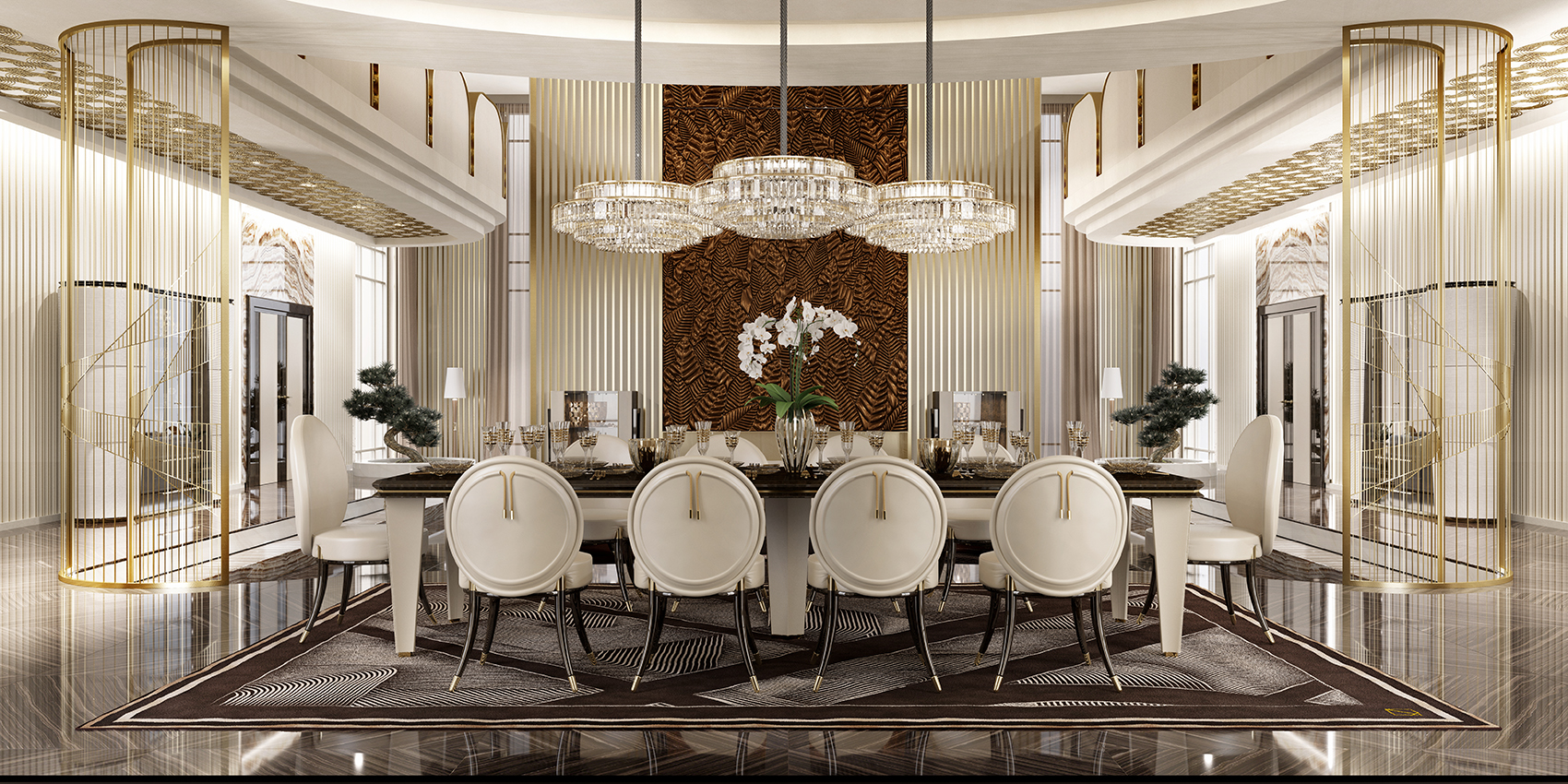 Luxury dining furniture art design group for Art design furniture