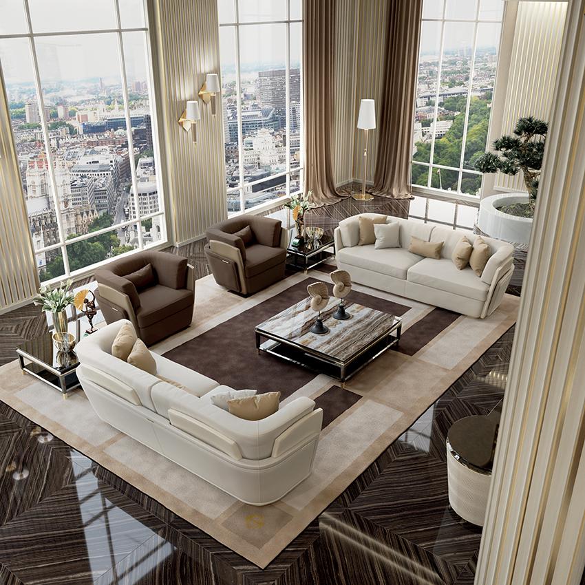 Luxury living furniture art design group for Luxury living group