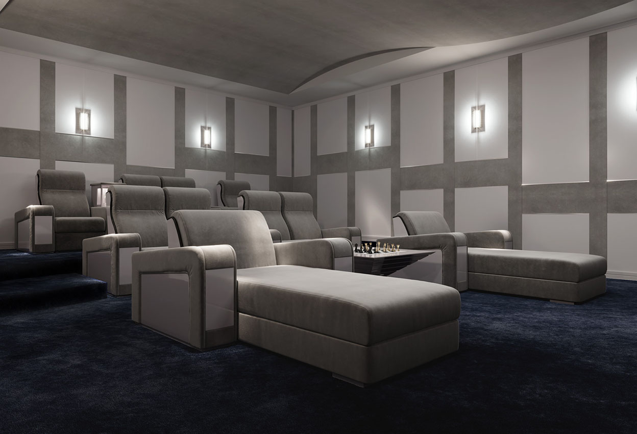 Home cinema furniture art design group for Art design furniture