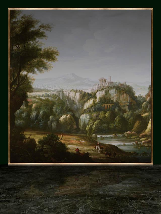 luxury italian painting
