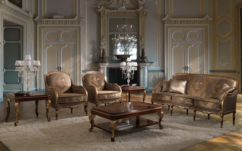 High Class sofa armchair coffee table