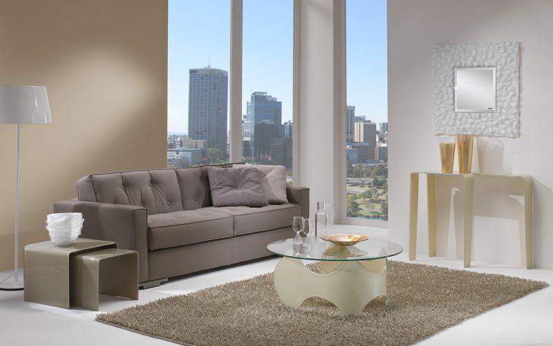 glass modern furniture