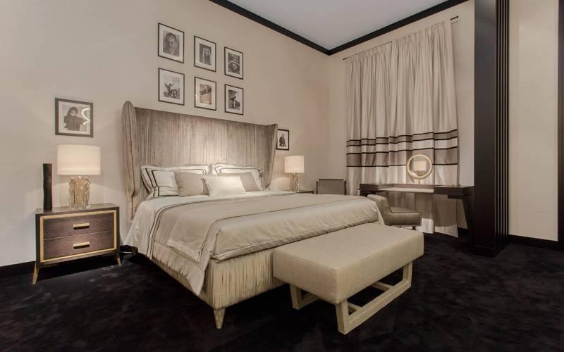 luxury modern design bed
